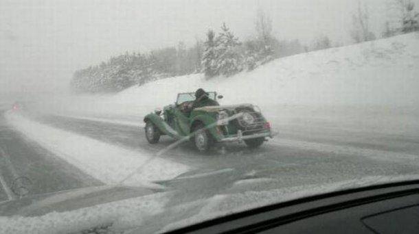 Юмор ушедшей зимы